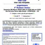 Locandina4°RadunoJunior-Atripalda2004